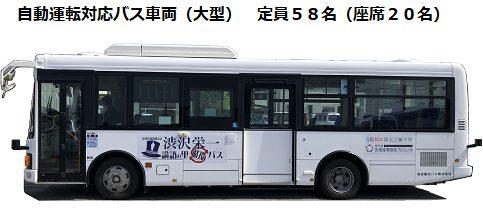 自動運転バス対応車両